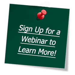 Sign up for a webinar to learn more